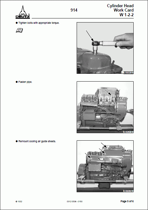 Deutz 914 Engine Service Manual repair manual Order & Download