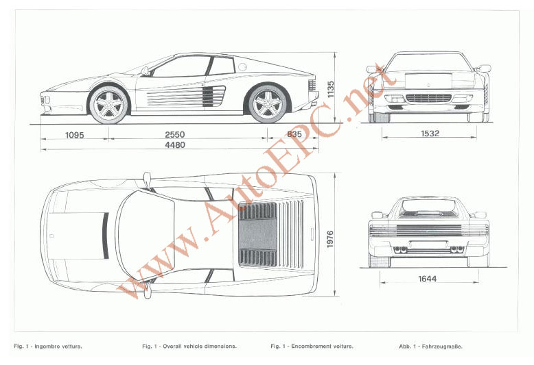 Ferrari Testarossa 512 TR 1984-1991 repair manual Order