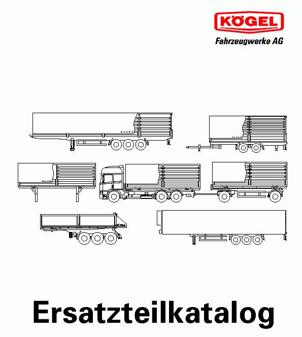 Kogel parts catalog Order & Download