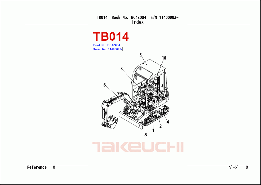 Takeuchi Tb135 Wiring Diagram : 29 Wiring Diagram Images
