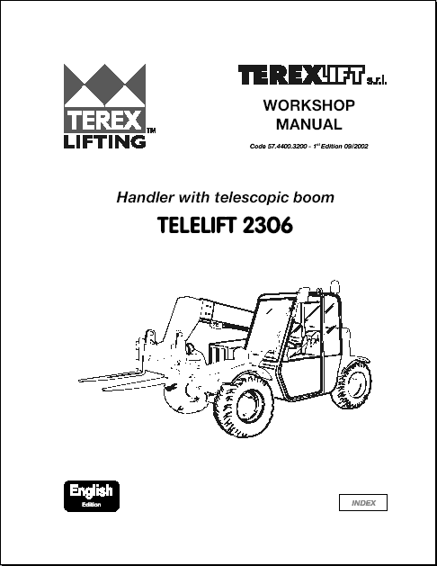 Terex Lift parts catalog repair manual Order & Download