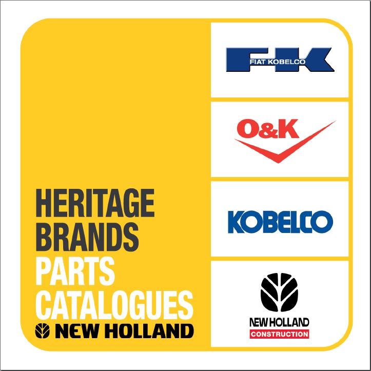 New Holland CE Heritage Brands parts catalog Order & Download
