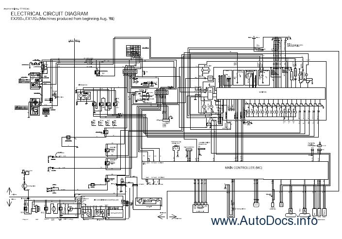 john deere 120 excavator wiring diagram