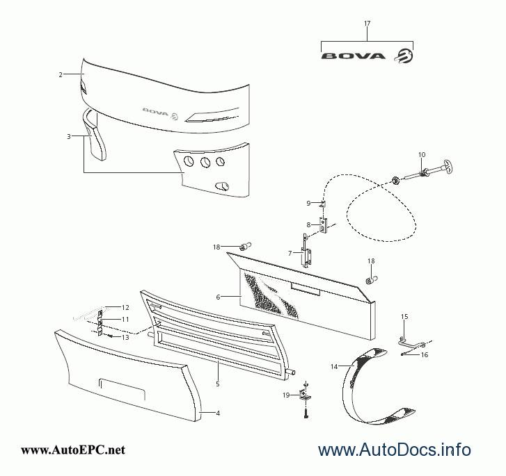 BOVA (Futura & Magiq) parts catalog repair manual Order