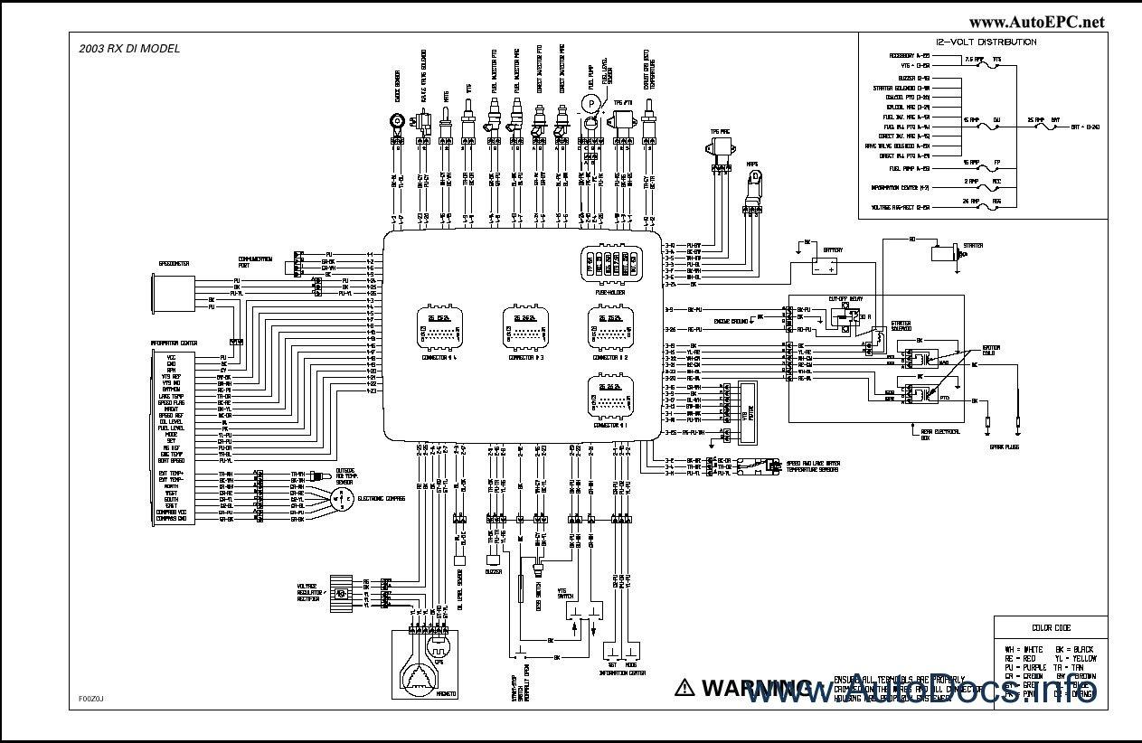 polaris sportsman 400 wiring diagram club car golf buggy bombardier sea doo 2003 parts catalog repair manual order & download