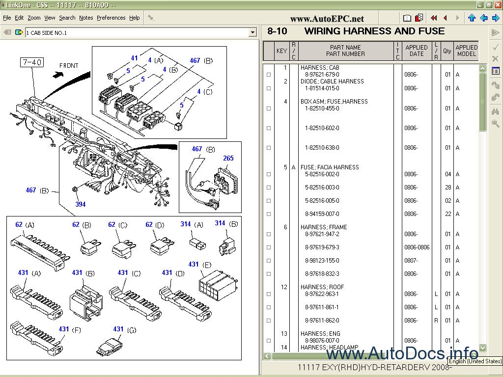 isuzu wiring diagram npr solar controller css net spare parts catalog book
