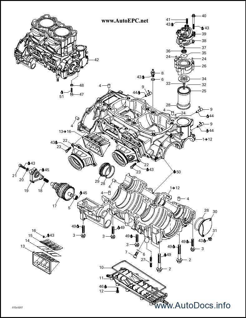 Bombardier Sea Doo 2002 parts catalog repair manual Order & Download