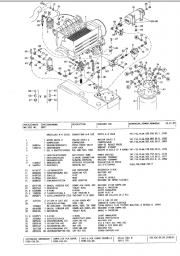 Atlas Excavators (TEREX) spare parts catalog, parts manual