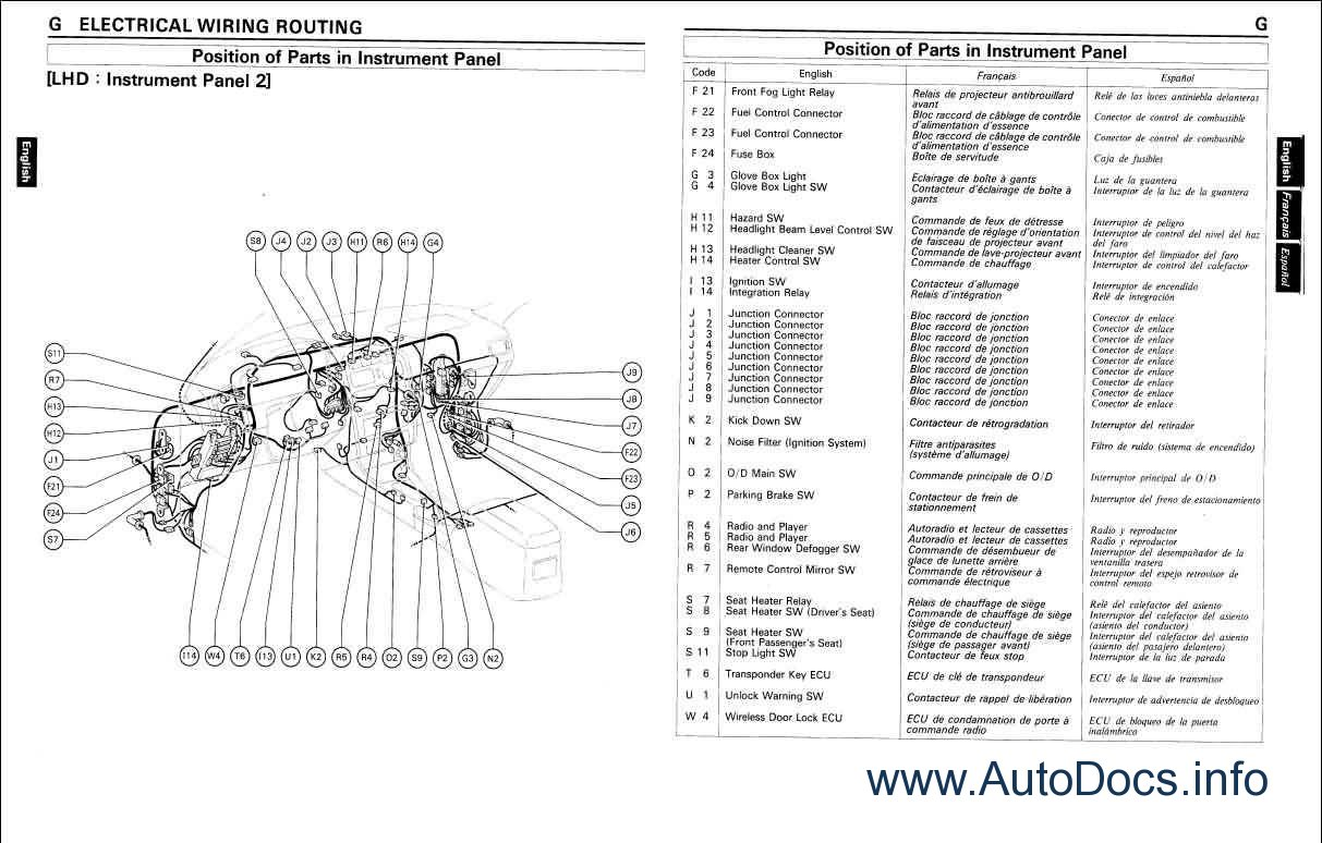 wiring installation diagram network design toyota land cruiser station wagon repair
