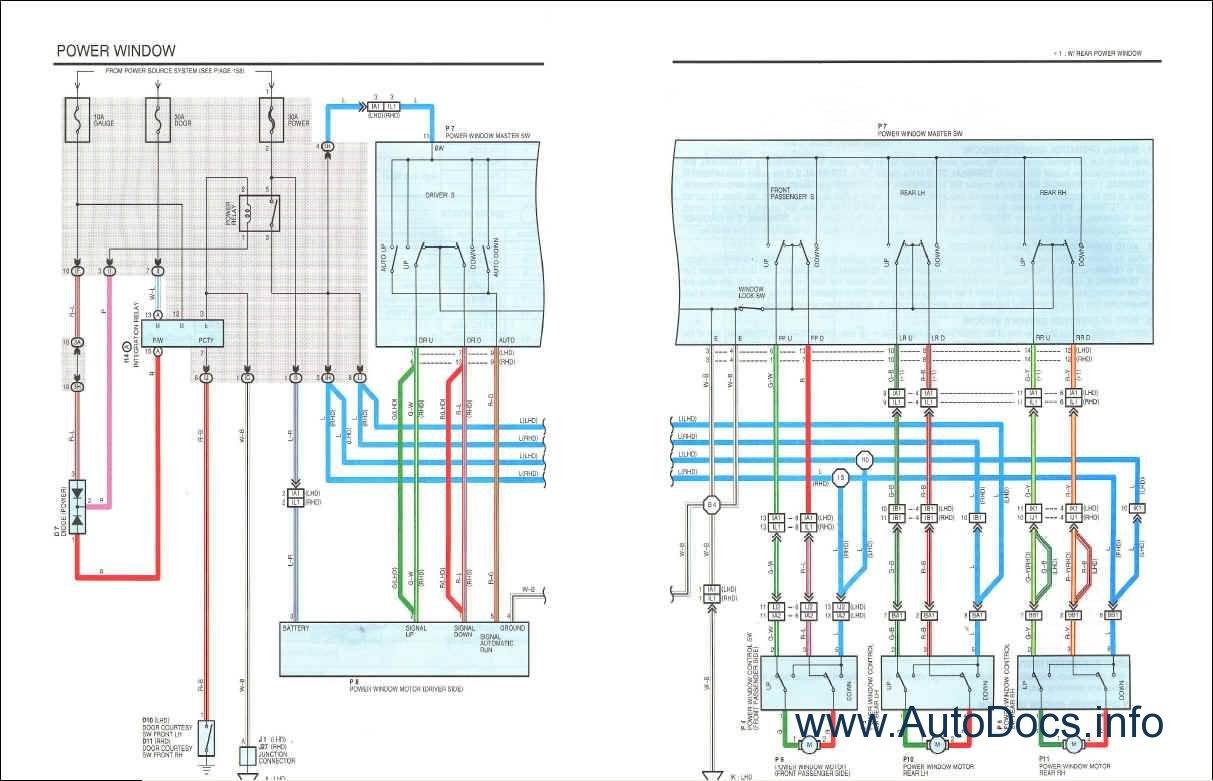 1996 toyota land cruiser wiring diagram 95 jeep grand cherokee radio prado repair manual