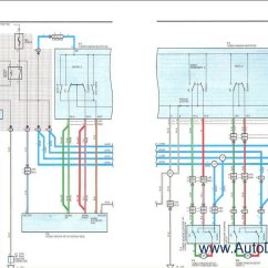 Toyota Trailer Wiring Diagram 2000 Mitsubishi Mirage Radio Land Cruiser Station Wagon Repair