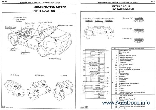 small resolution of toyota corona carina e repair manual order download 2006 volvo xc90 headlight wiring diagram