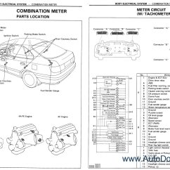 1996 Toyota Land Cruiser Wiring Diagram How To Do Home Electrical Diagrams Station Wagon Repair