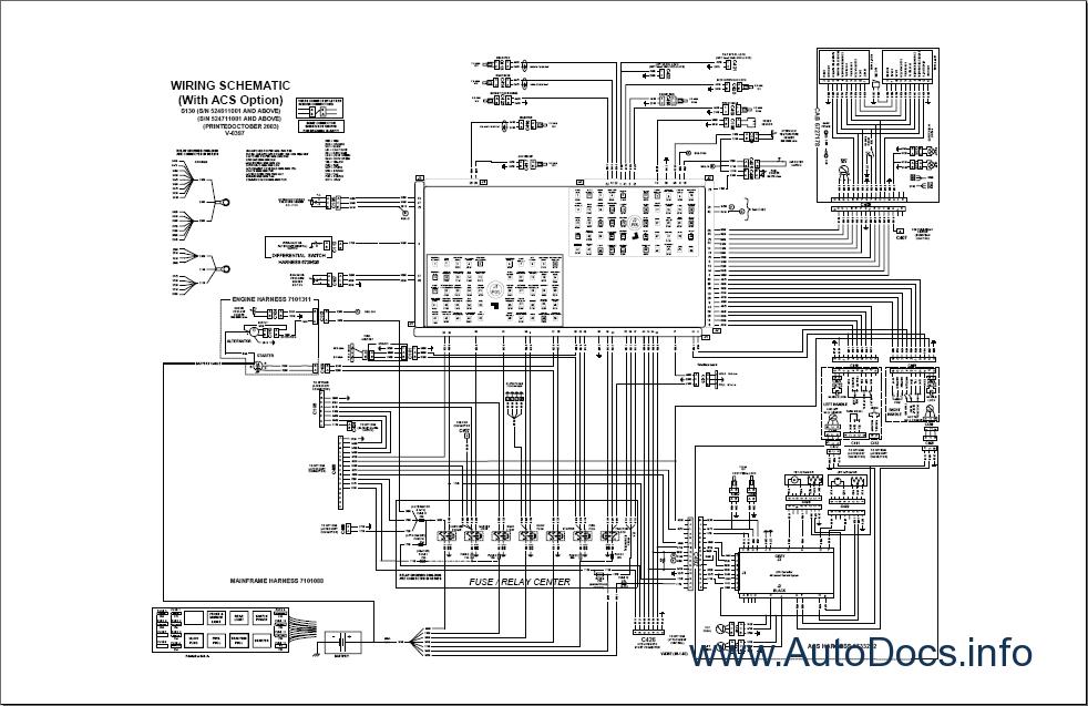 843 Bobcat Wiring Diagram Bobcat S130 Mini Loader Parts Catalog Repair Manual Order