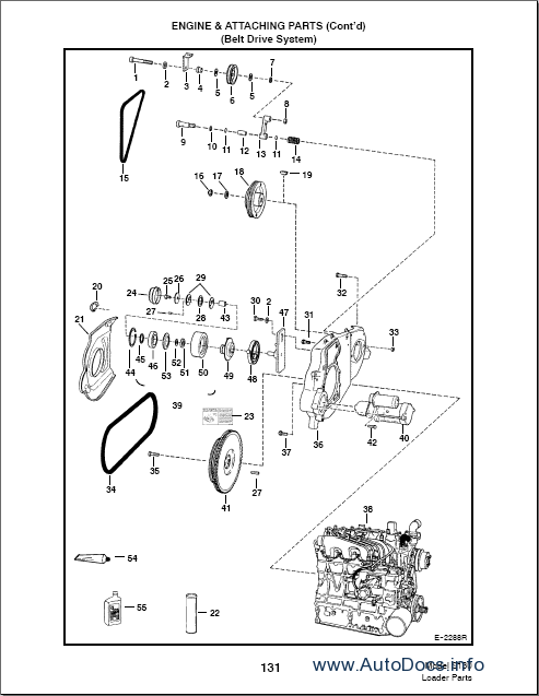 Bobcat S130 Mini Loader parts catalog repair manual Order