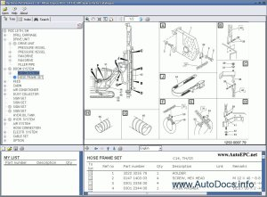 Atlas Copco Rock Drills ROC L7 mk 11  Atlas Copco ROC L8 TH, SM parts catalog Order & Download