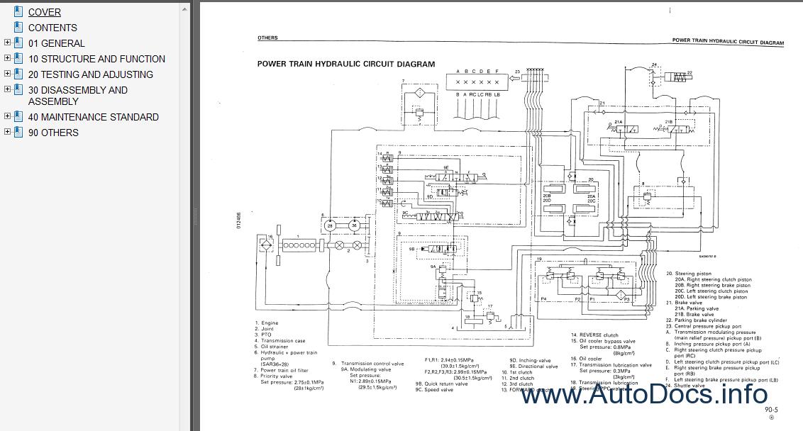 Komatsu D41E,P-6 Bulldozer Service Manual repair manual