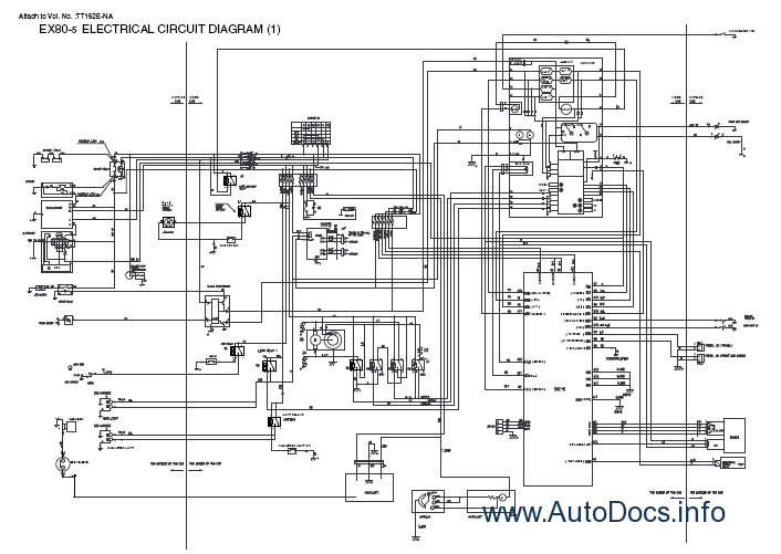Hitachi Technical Diagram, Hitachi, Free Engine Image For