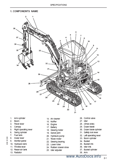 Fiat Kobelco Compact Line Workshop Service Repair Manual