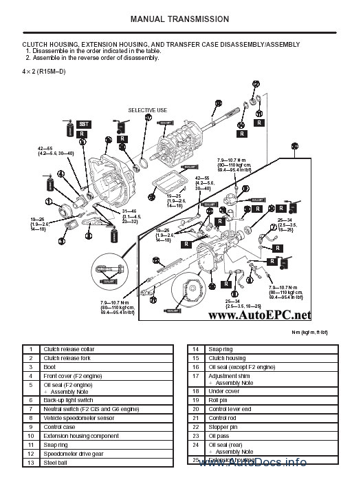 Ford Ranger repair manual Order & Download