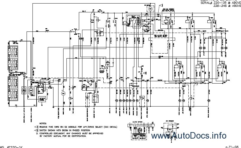 hydraulic schematic info