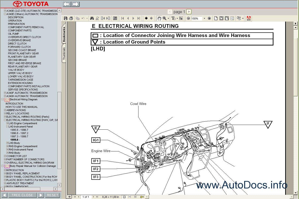 toyota hiace wiring diagram lucas voltage regulator 1989-2004 service manual repair order & download