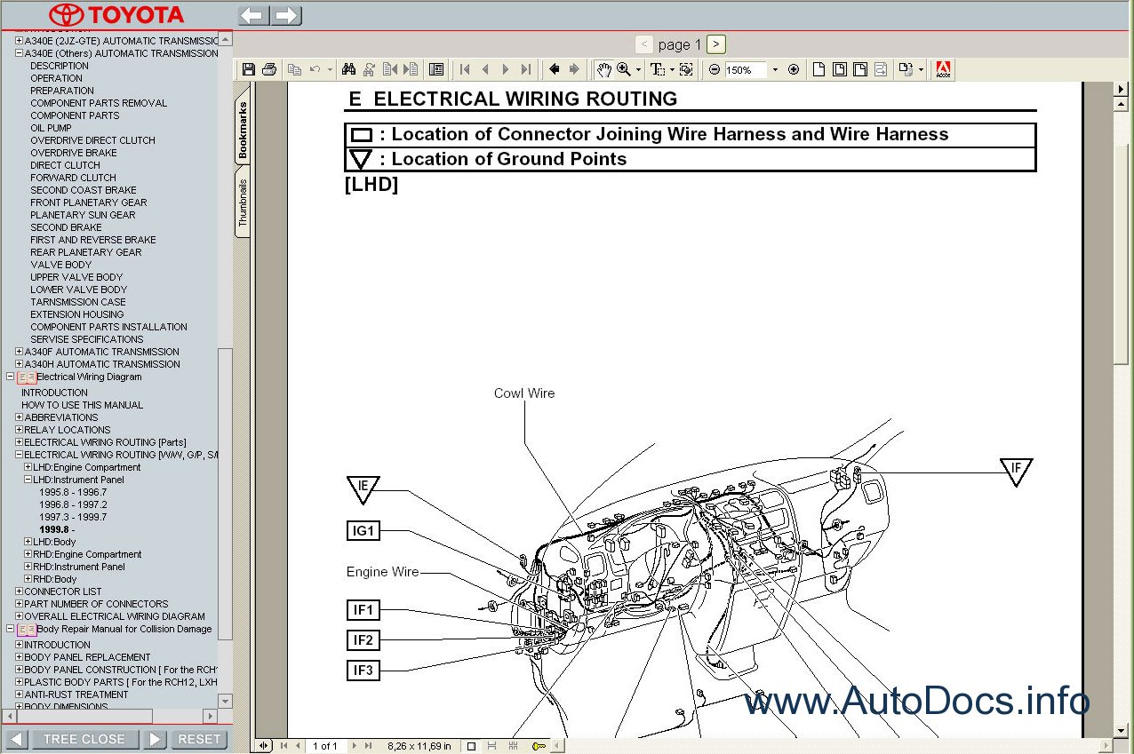 toyota hiace wiring diagram oma parc de la villette 1989-2004 service manual repair order & download