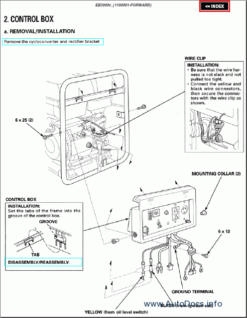 Es6500 Honda Generator Parts Diagram Honda EM5000SX Parts