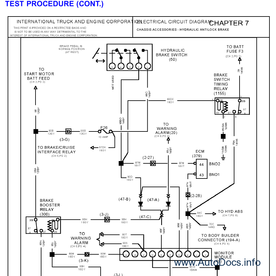 international 4300 wiring diagrams audi a6 c6 tail light diagram www toyskids co truck isis service 2004 for 2003