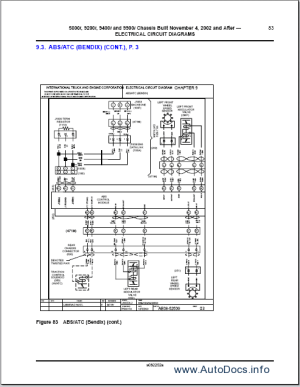 International Trucks Wiring Diagram repair manual Order