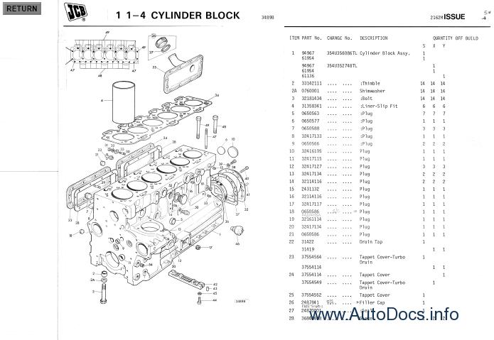 JCB Old Parts Catalogs parts catalog Order & Download