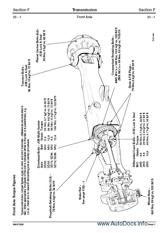 JCB JZ70 Tracked Excavator Service Repair Workshop Manual