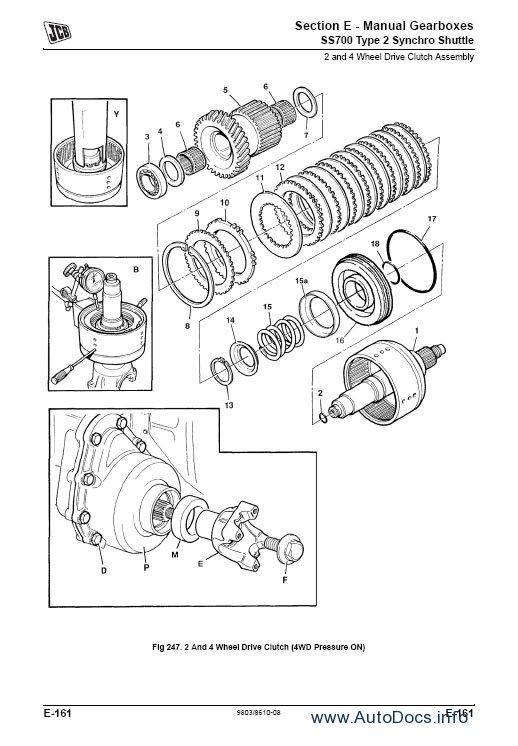 JCB Service Manuals S2A repair manual Order & Download