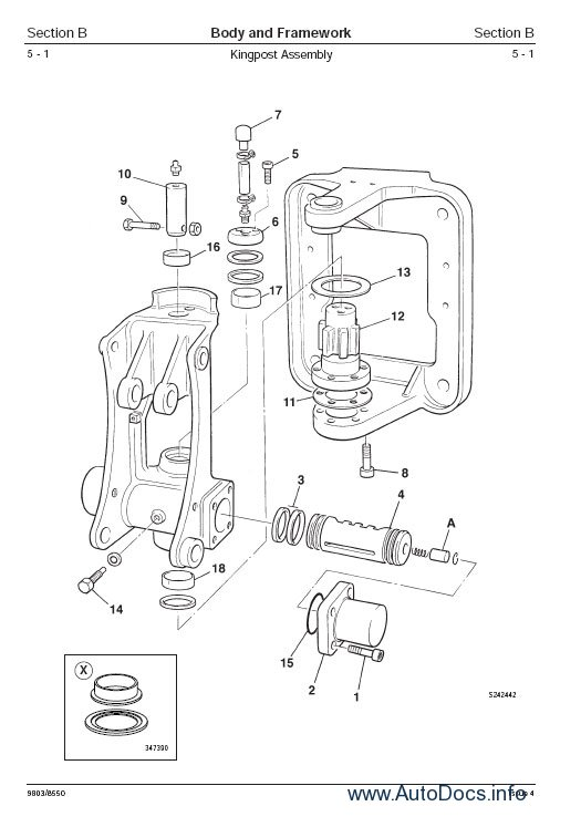 JCB Service Manuals S3A repair manual Order & Download