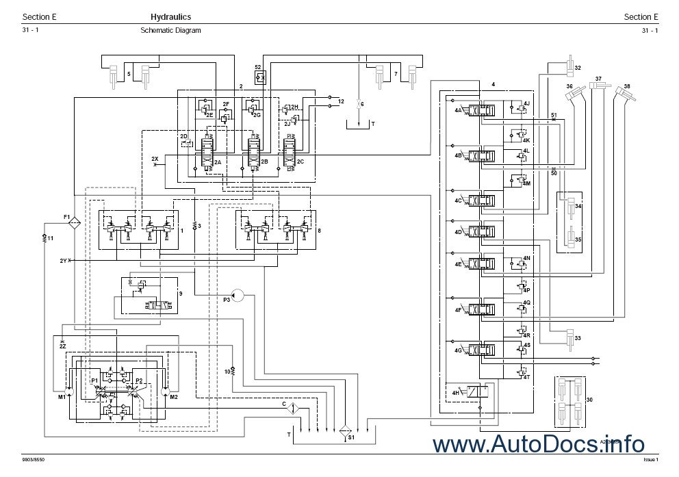 Jcb 803 Wiring Diagram JCB Backhoe Wiring Schematics