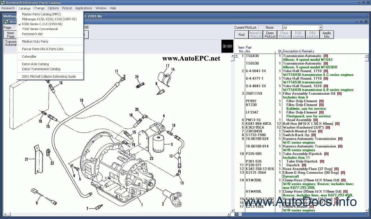 Fuse Box Kenworth Spare Parts Catalog Parts Catalog Order Amp Download