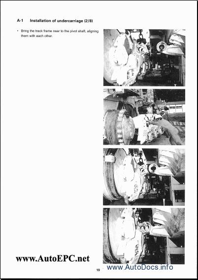 Komatsu Hydraulic Excavators PC-270 to PC1800 Service