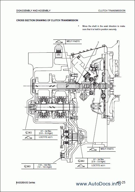 Komatsu ForkLift Truck FG/FD 10-18 repair manual Order