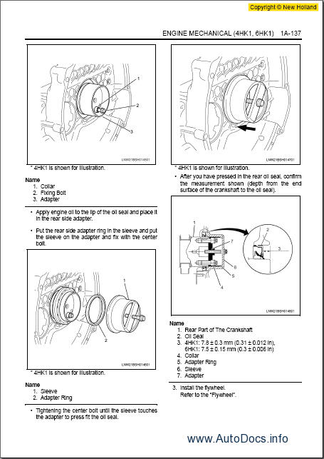 New Holland Engines repair manual Order & Download