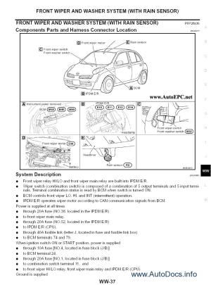 Nissan Micra  K11 series repair manual Order & Download