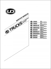 Nissan UD Trucks 1300, 1400, 1800, 2000, 2300, 2600, 3300