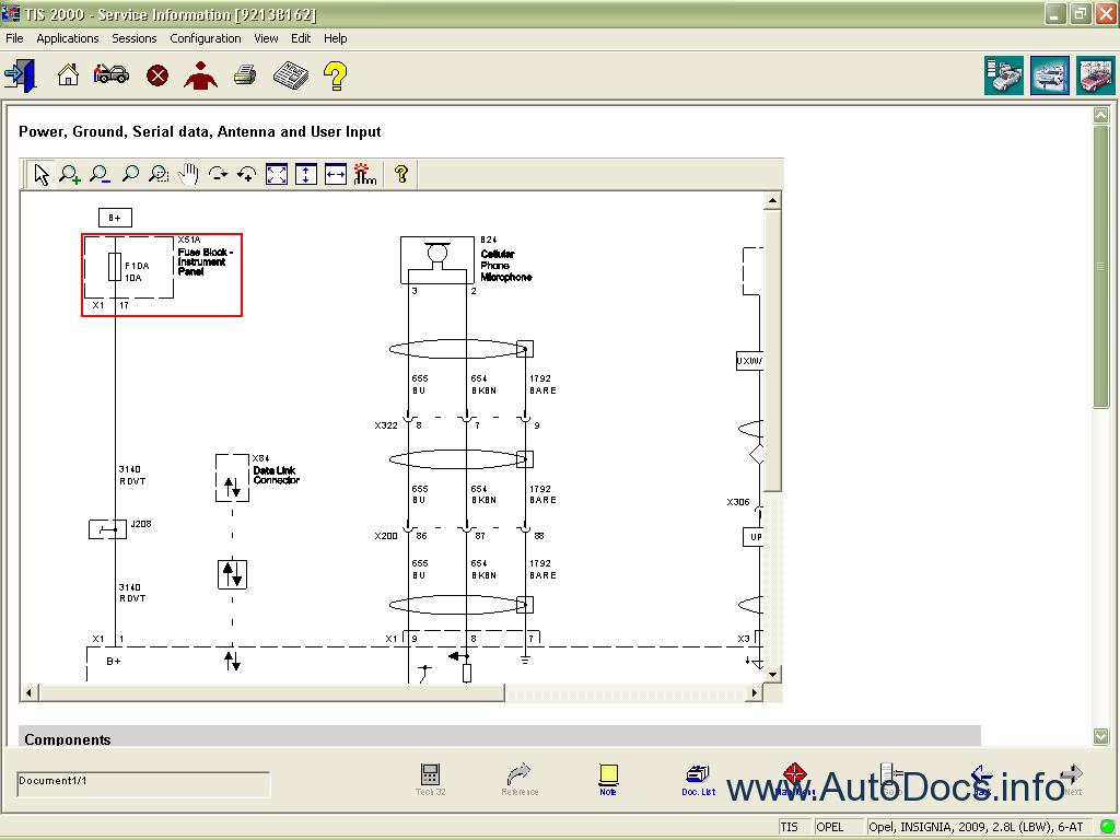 opel tis wiring diagrams download