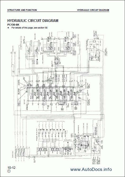 Komatsu Hydraulic Excavator PC130-6K, PC150LGP-6K repair