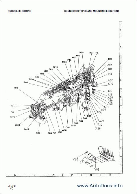 Komatsu Hydraulic Excavator PC150-6K, PC150LC-6K repair