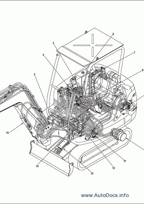 Komatsu Hydraulic Excavator PC27R-8 repair manual Order