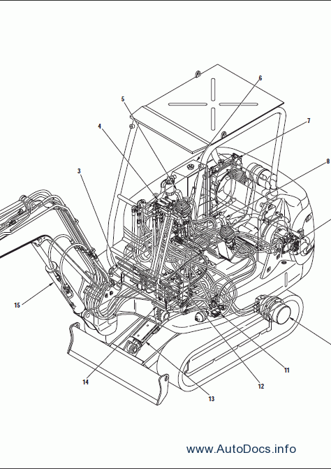 Komatsu Hydraulic Excavator PC20R-8, PC27R-8 repair manual