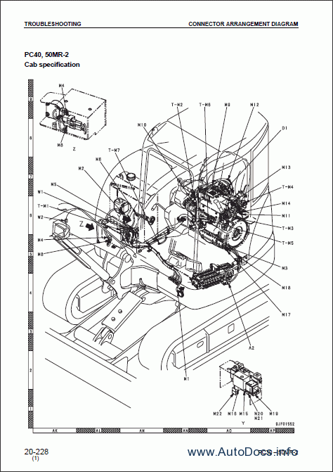 Repair manuals Komatsu PC27MR-2, PC30MR-2, PC35MR-2