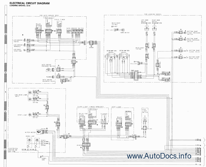 Komatsu Hydraulic Excavator PC1100-6 repair manual Order