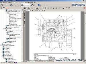 Perkins SPI2 2008 parts catalog repair manual Order & Download