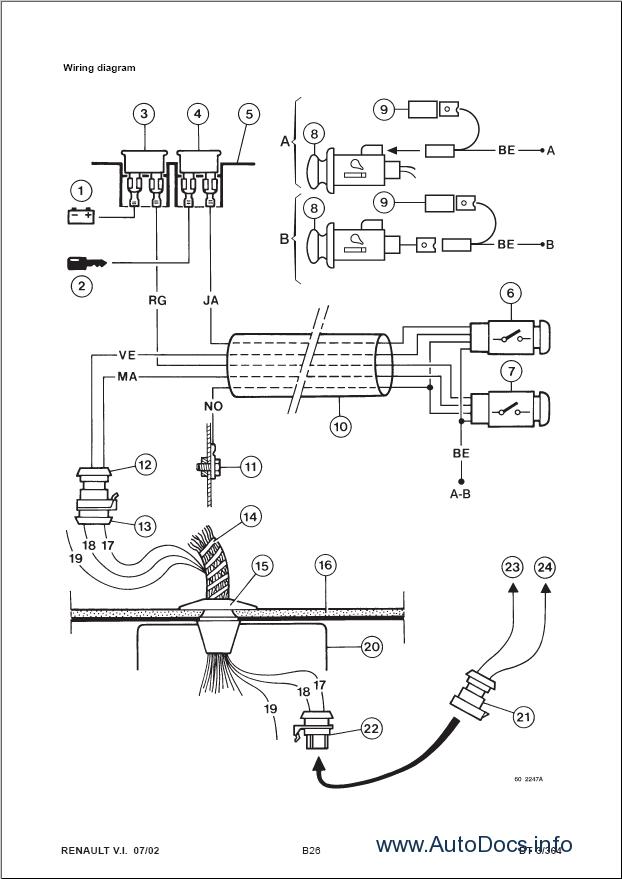 bosch alternator wiring diagram el camino renault kerax repair manual order & download